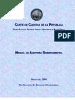 Manual de Auditoria Gubernamental