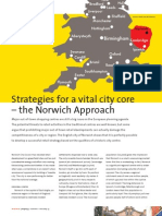 Strategies for a vital city core – the Norwich Approach