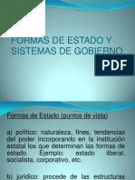 96554522 Formas de Estado y Sistemas de Gobierno Diapositivas