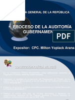 Proceso de La Auditoria Gubernamental