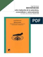 Biomímesis HACIA UN ECOLOGISMO EPICÚREO