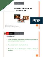 DIGESA - Normativa Sanitaria de Alimentos