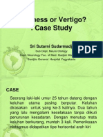 Dizziness or Vertigo Prof. Sri Sutarni Sympo 1