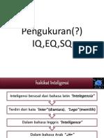 Psikologi 7 Pengukuran Iq, Eq, Sq