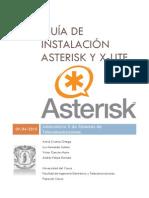 1. Guía de Instalación Asterisk y X-lite