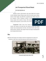 Sejarah Transportasi Massal Dunia