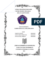 Laporan Praktikum BK Karir Di SMK Negeri 1 Singaraja Kelas X Akuntansi B