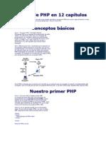 Aprende PHP en 12 capítulos