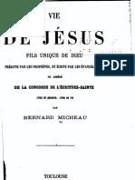 Vie de Jésus par Micheau