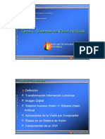 Tema 1. Sistemas de Vision Artificial