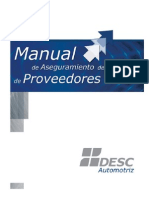 Manual Proveedores DASA