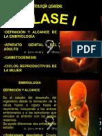 Clase i Embrio Gral