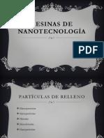 Resinas de nanotecnología