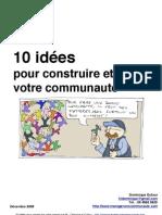 10 idées pour construire et animer votre communauté