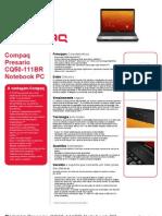Compaq Presario Cq50 111br Notebook Pc