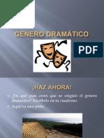 UNIDAD 0, GÉNERO DRAMÁTICO 1