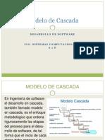 Método de Cascada Desarrollo de Sistemas