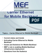 MEF Mobile Backhaul for NXTcomm08 - Wed 06-17-2008 Final1