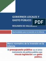 Gobiernos Locales y Gasto Social CPDE