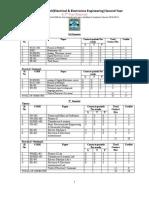 EEE Proposed 3rd Year Syllabus 06.08.12