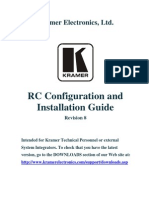 Rc Configuration and Installation Guide