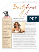 Early Music ALberta Newsletter 2011 - December