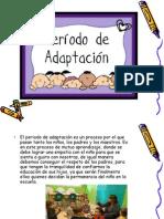 etapa de adaptación