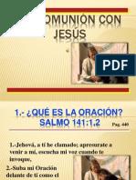 1.- En Comunicacion Con Jesus