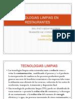 TECNOLOGIAS LIMPIASEN RESTAURANTES