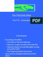Flat Earth Bible 10 of 10 - Conclusions