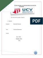 Universidad Cesar Vallejo- Trabajos Ya Por Terminar