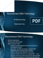 Recombinant DNA Technology[1]