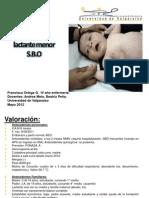 Proceso enfermería SBO
