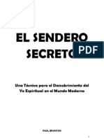 Sendero Secreto Paul Brunton