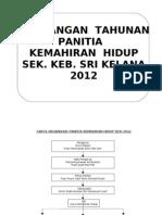 Rancangan Tahunan Panitia Kemahiran Panitia KH 2012