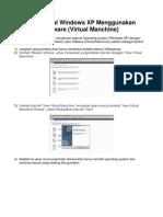 Menginstal Windows XP Menggunakan VMware