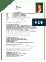 Julie Toon Pawley Resume