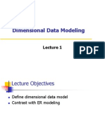 Dimensional Data Modeling - Lecture 1