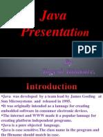 Java Presentation