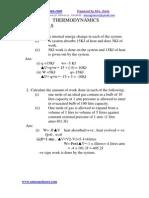 Thermodynamics Numericals