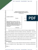 Order on Summary Judgment--Jamison v. Morton