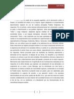 Medio milenio de discriminación al Pueblo Mapuche - Luis Vitale