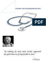 Medical Practice- Management Strategy & Consumer Protection II