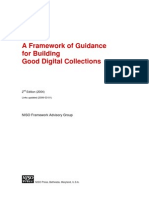A Framework of Guidance for Building Good Digital Collections 2nd Edition