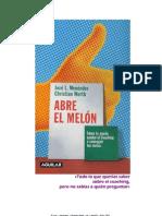 Abre El Melon-Jose L Menendez