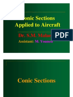 Conic Sections Applied to Aircraft