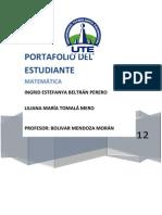 Fundamentos de Matematicas p1