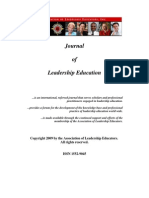 Journal of Leadership Education