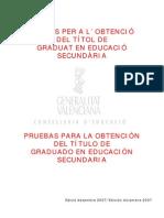 exàmens (2001-2007)
