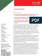 Informe HSBC sobre la prelación de la deuda soberana española